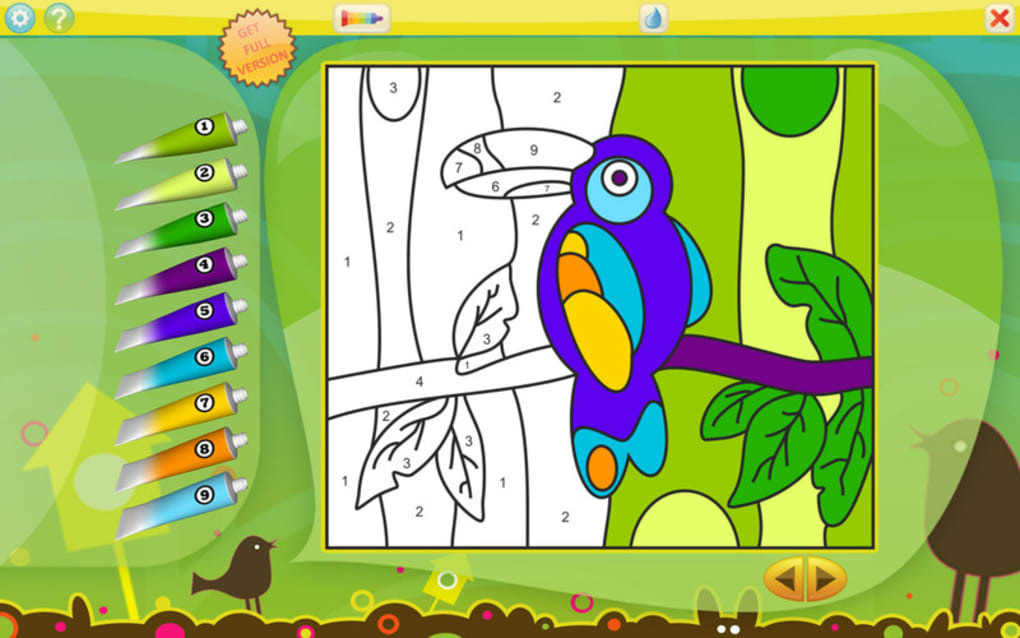 color by numbers animals free for mac ダウンロード
