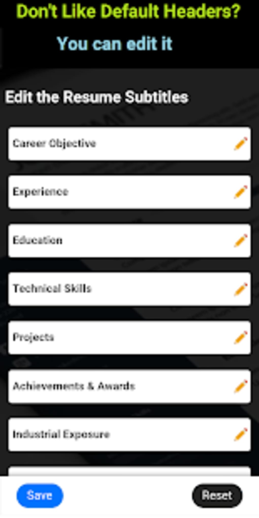 free resume builder cv maker templates pdf formats apk for