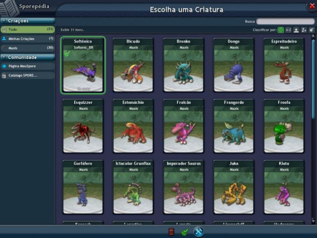 Download spore 1. 0 for mac free.