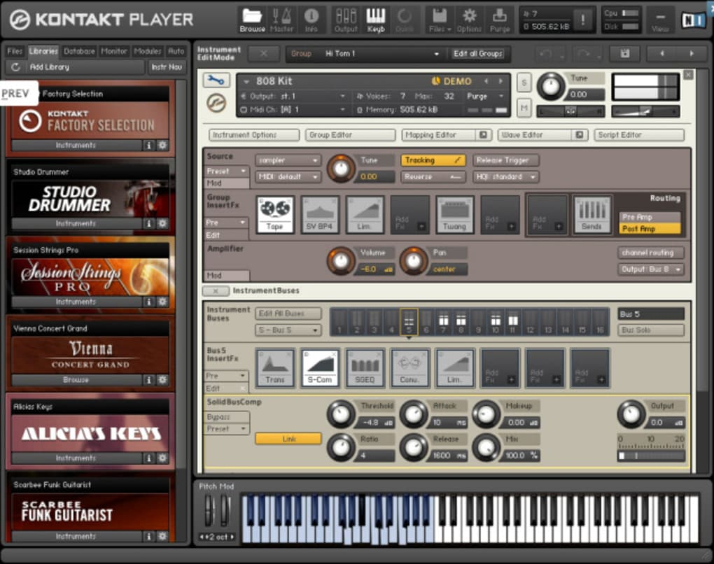 kontakt vst review