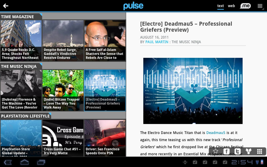 LinkedIn Pulse for Android - Download