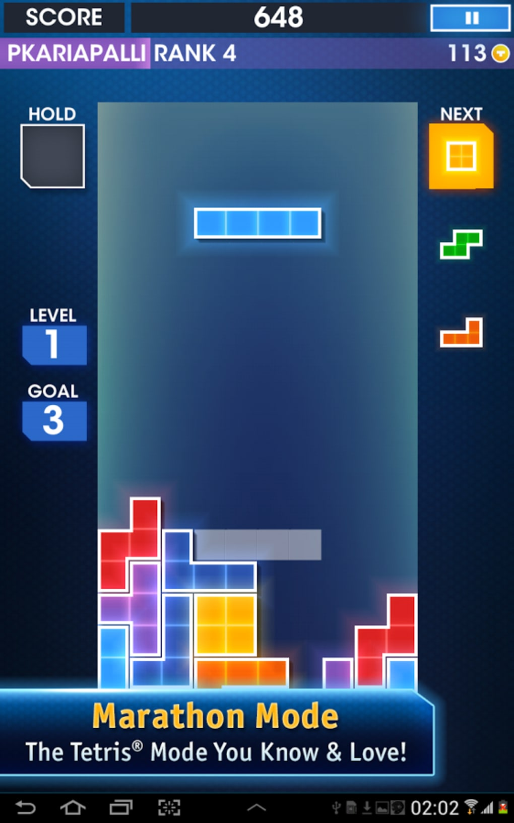 Tetris for Android - Download