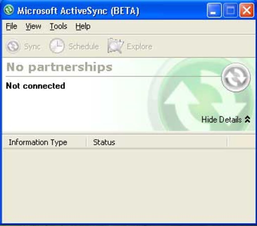 activesync pour windows 7 64 bits