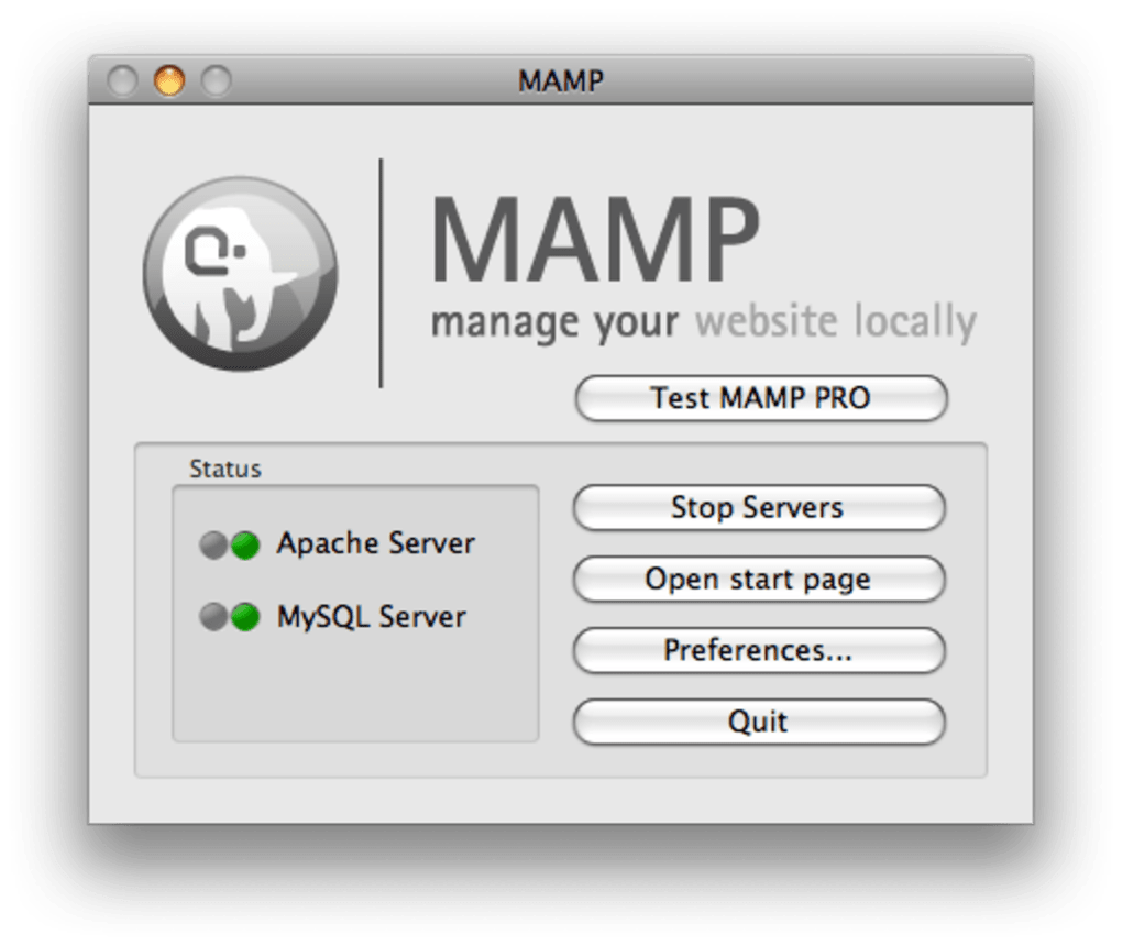 MAMP for Mac - Download