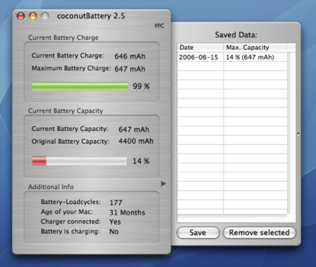 coconutbattery mac