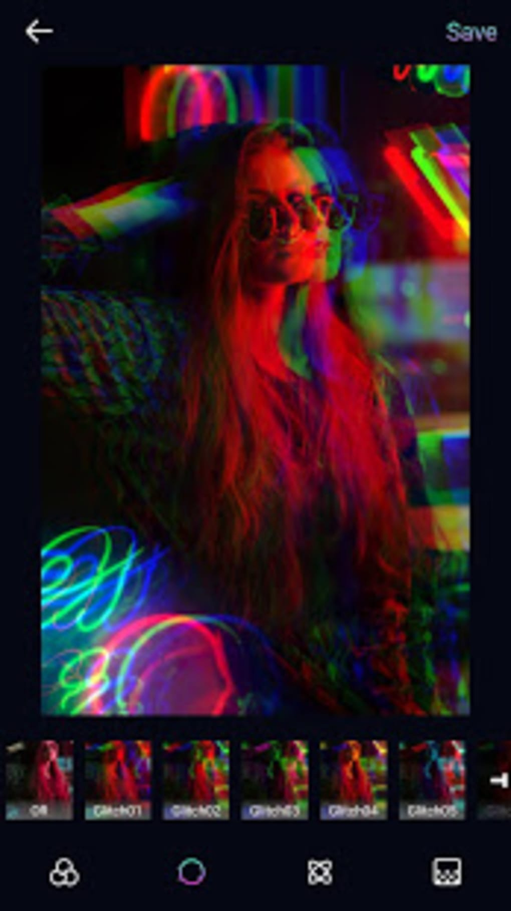Glitch Photo Editor - Glitch Video VHS Vaporwave for Android