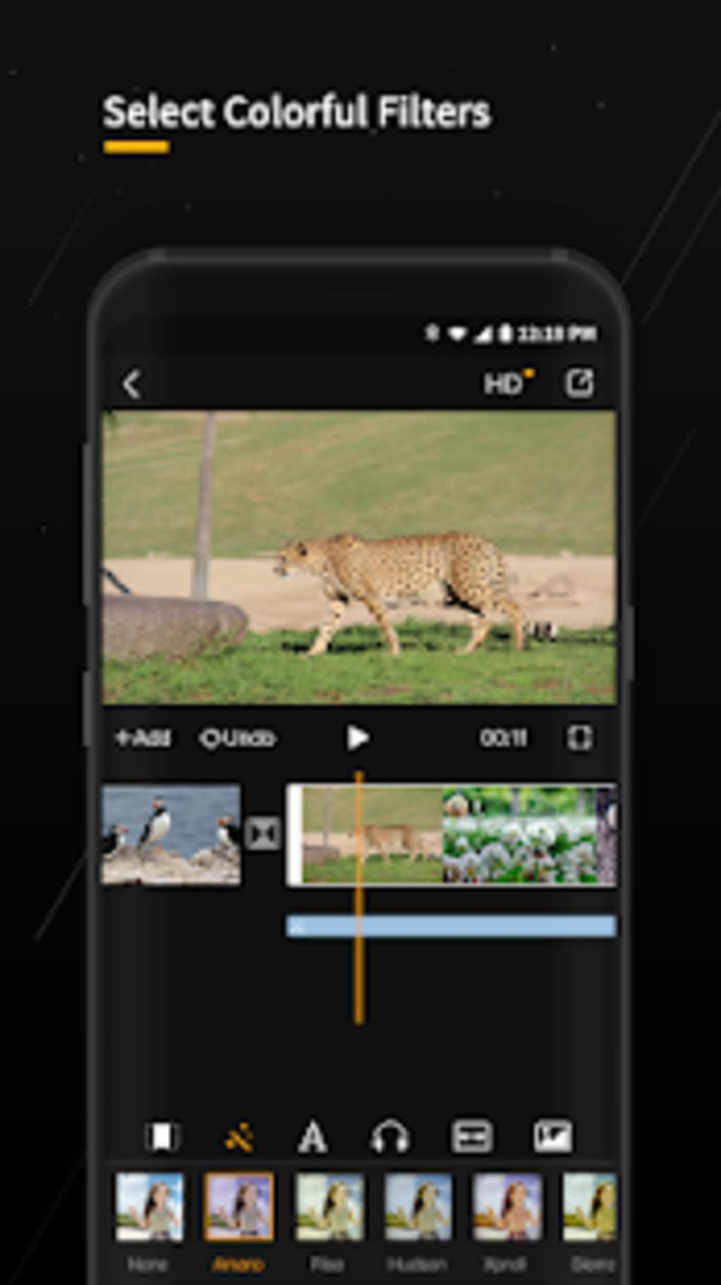 GoPlay Video Editor Recorder add music for Android - Download
