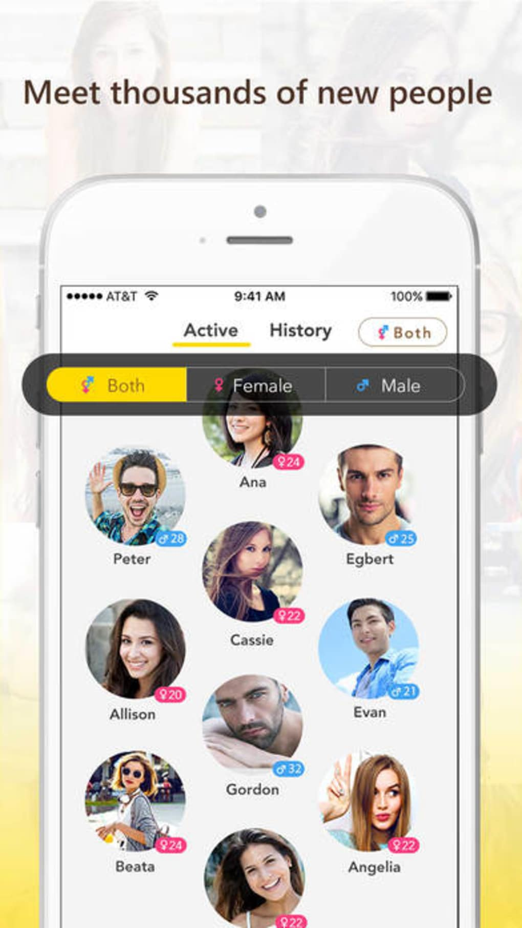 free chat meet people