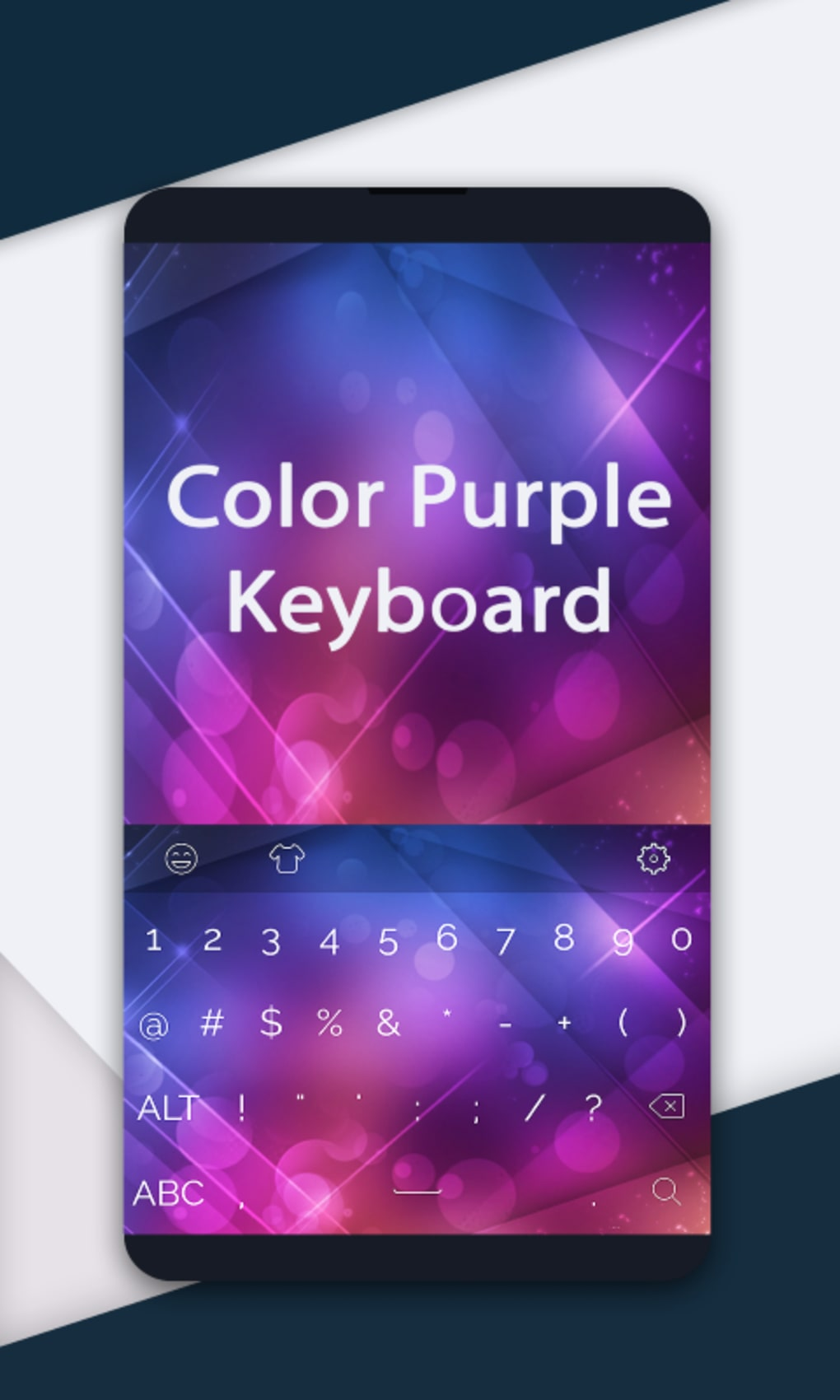 Color Purple Keyboard
