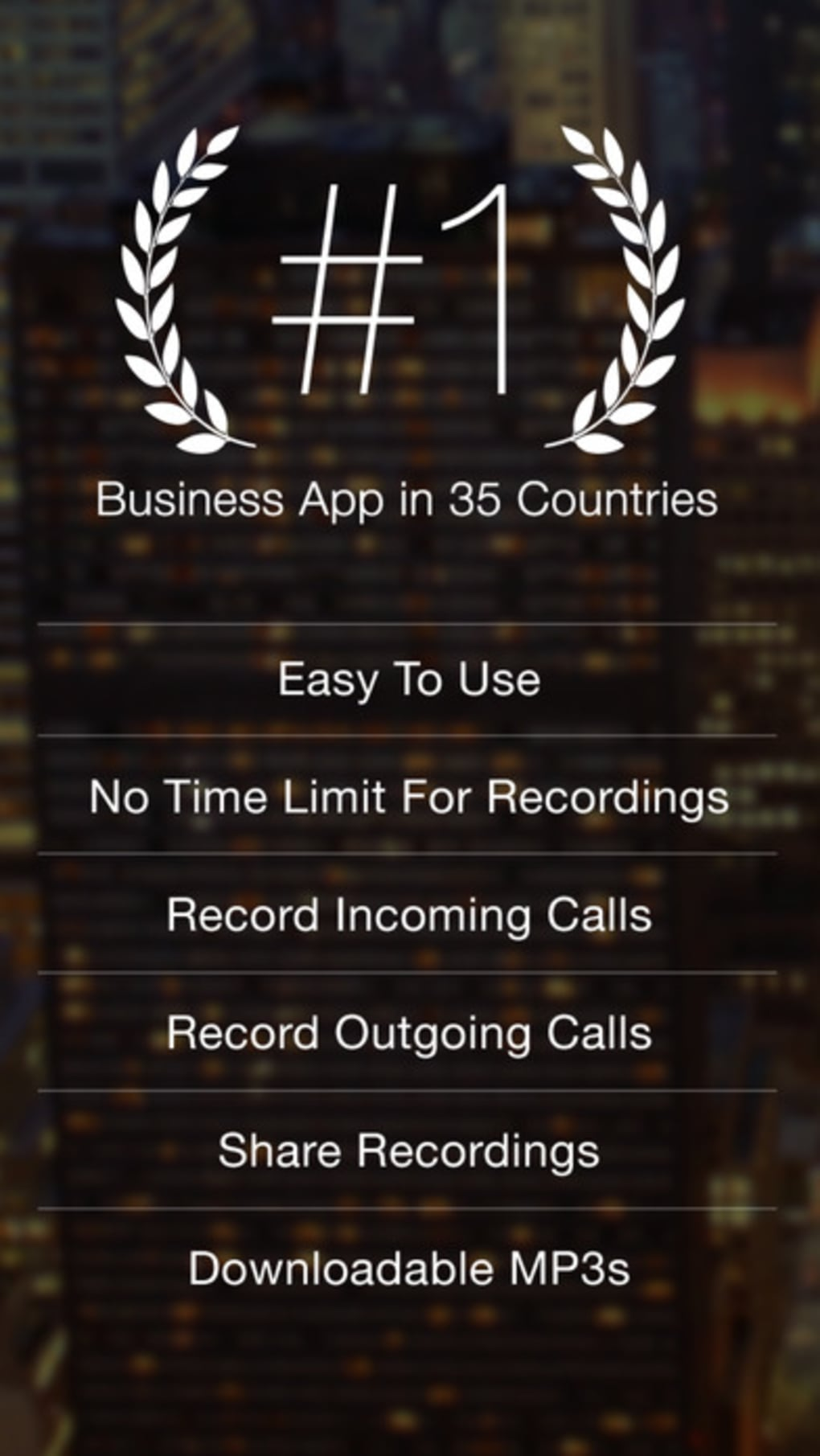 TapeACall Pro - Call Recorder For Phone Calls for iPhone - Download