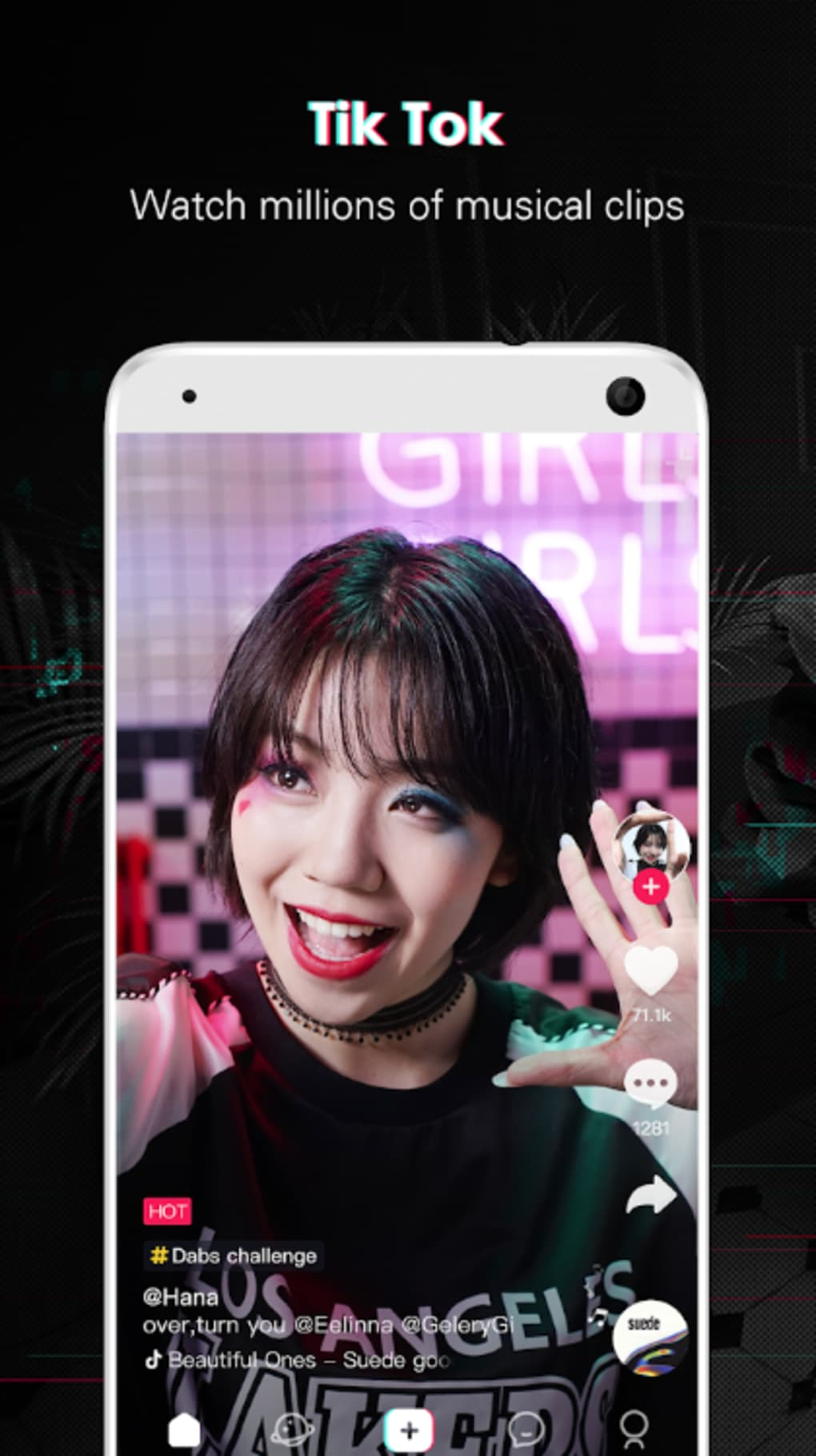 Tik Tok (known before as Musical ly) for iPhone - Download