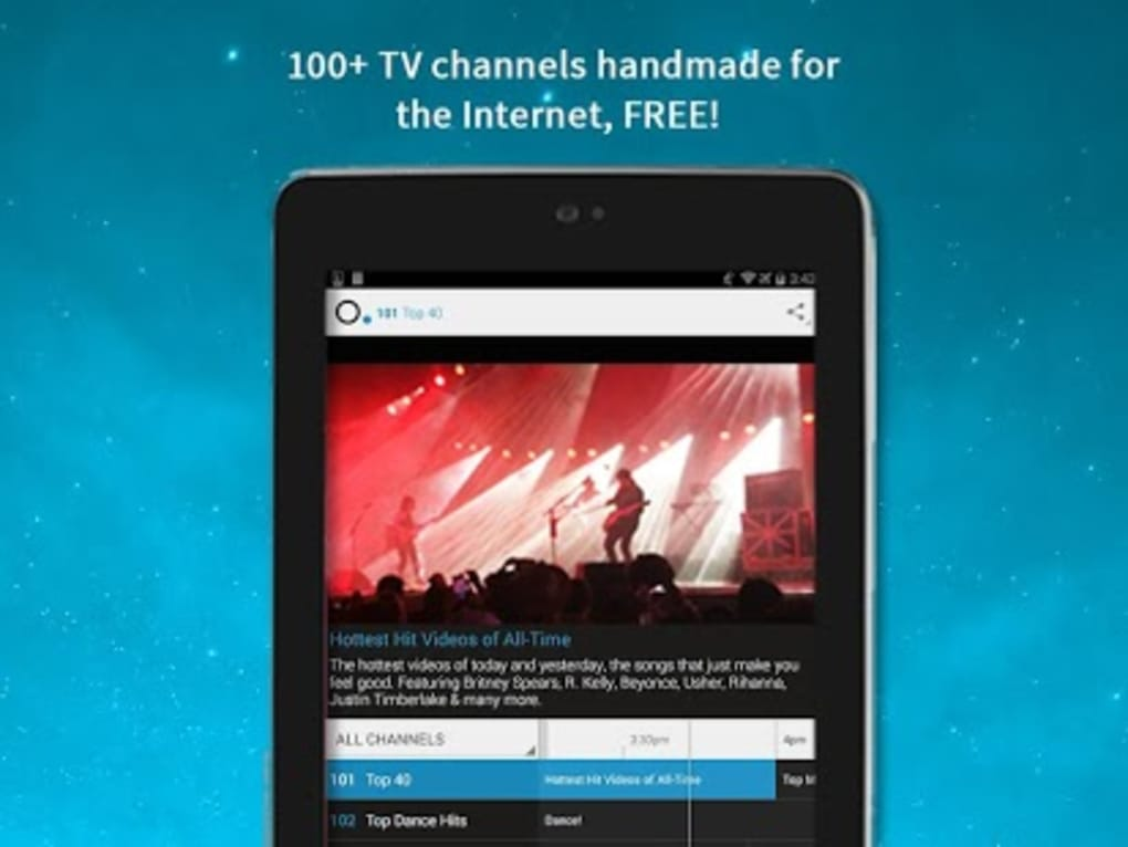 Pluto TV: TV for the Internet for Android - Download
