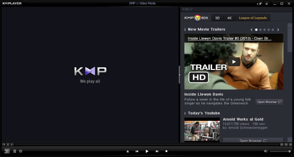 kmp 3d video player
