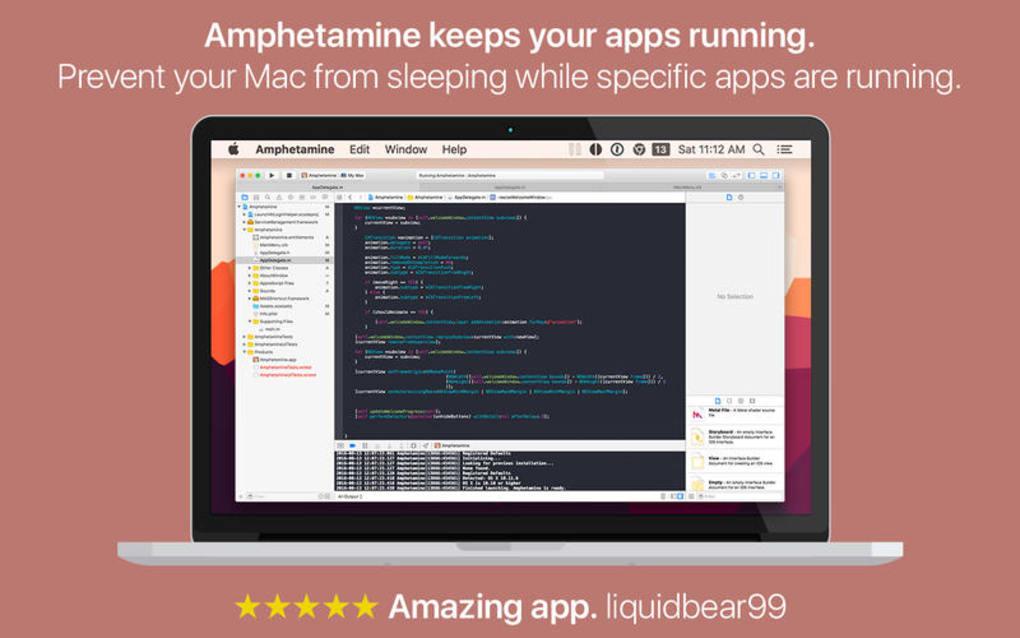 Amphetamine for Mac - Download