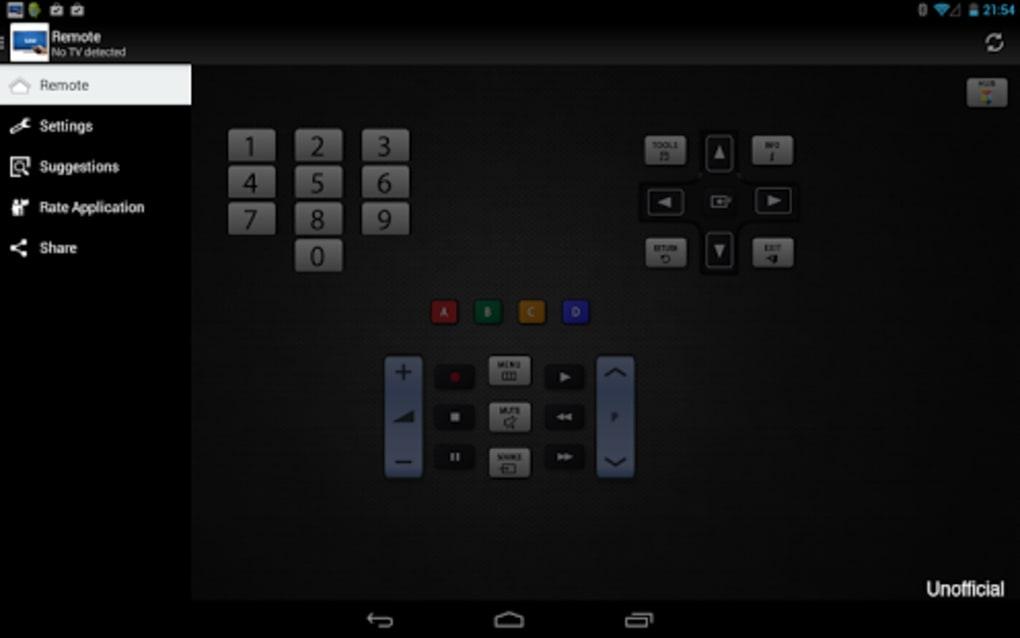 Remote for Samsung TV