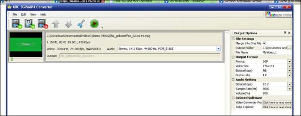ABC 3GP/MP4 Converter - Download