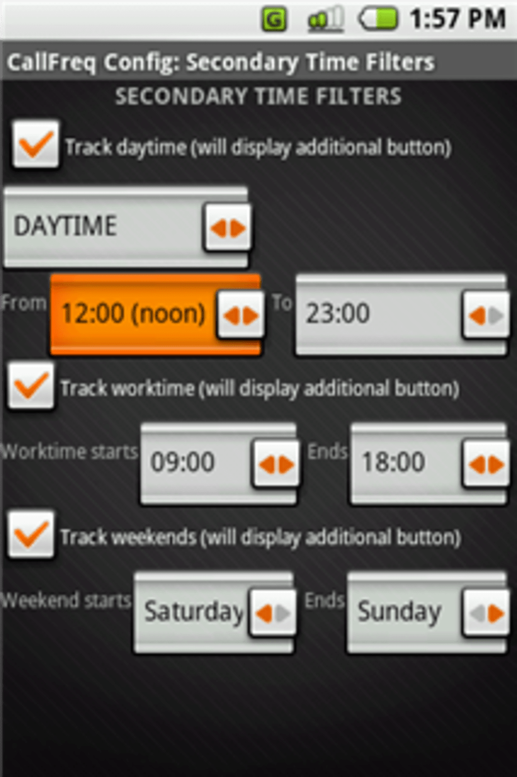 CallFreq for Android - Download