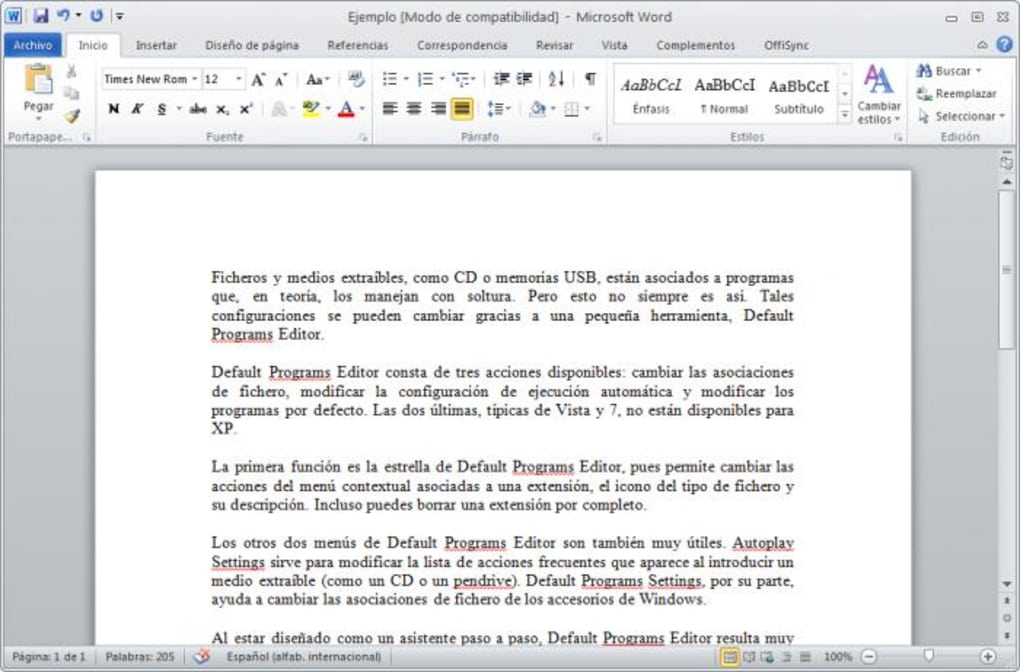 descargar word 2010 gratis en español para windows 7 uptodown