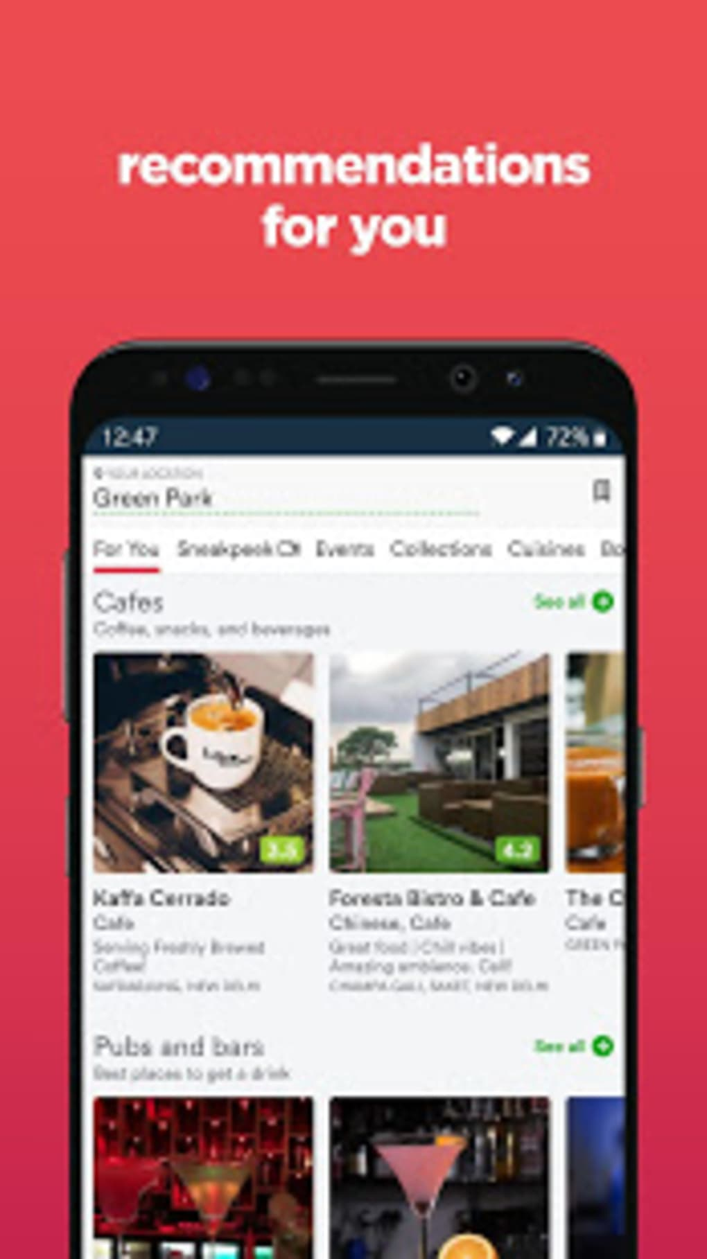 zomato free download
