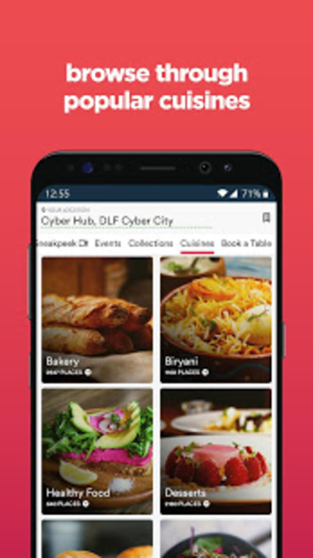 Zomato Restaurant Finder And Food Delivery App Apk For