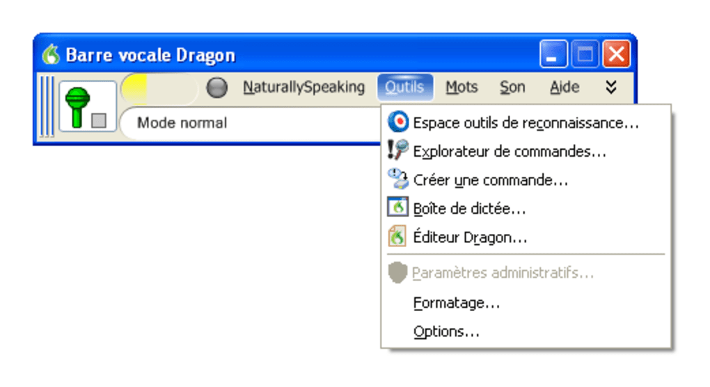 Telecharger Dragon Naturally Speaking