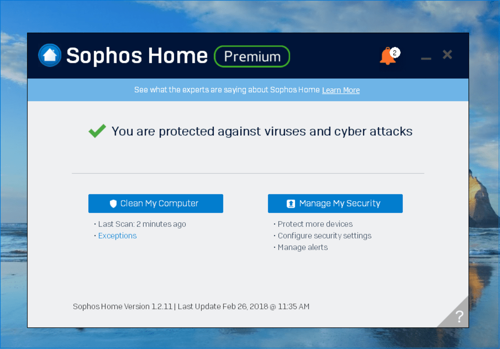 Sophos Home Premium - Download