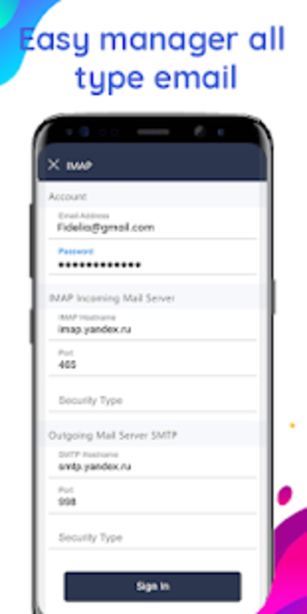 Email app for Gmail Outlook Other mail for Android - Download