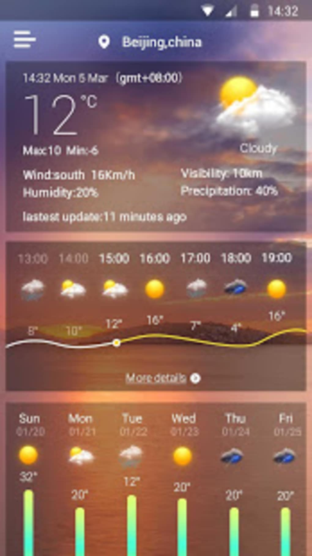 Live Weather Wallpaper Android Wallpapers User