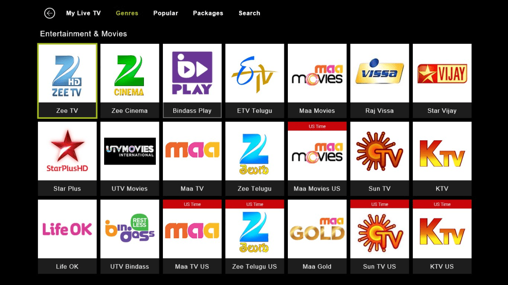 YuppTV - LiveTV, Catch-up, Movies - Download