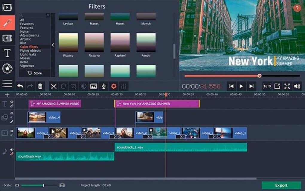 Movavi Video Editor - Download