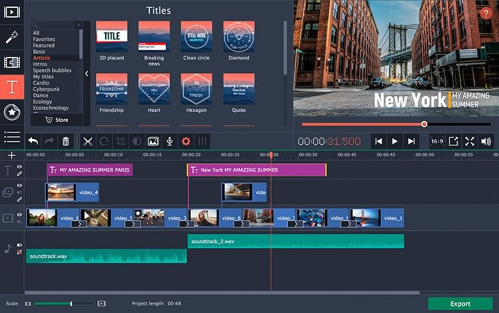 Movavi Video Editor - Download