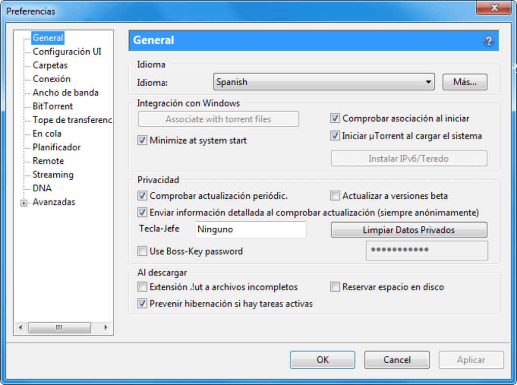 descargar utorrent portable windows 10