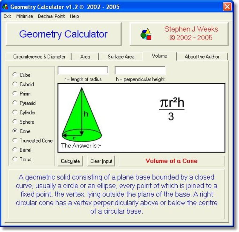 Geometry Calculator - Download
