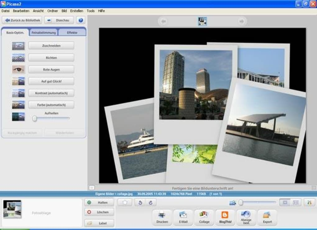 Files which can be opened by Picasa