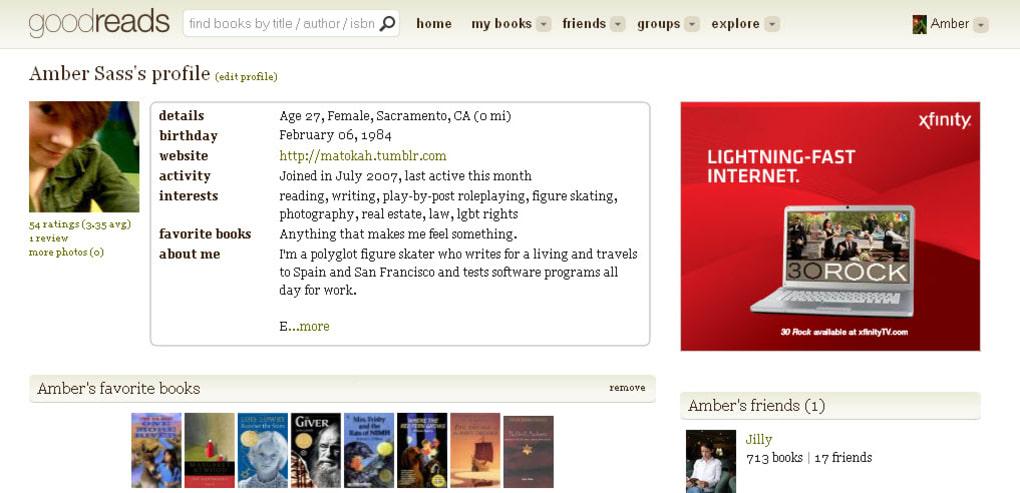 Goodreads Online