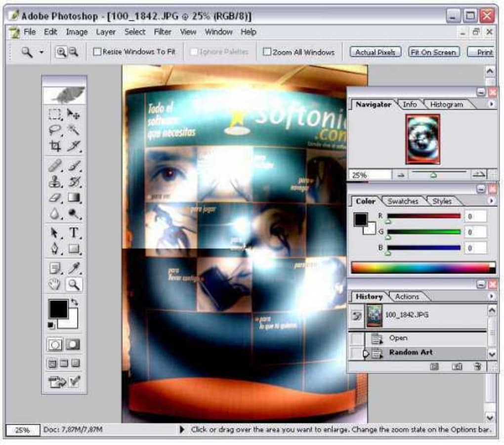 adobe photoshop 7 filters free download full version