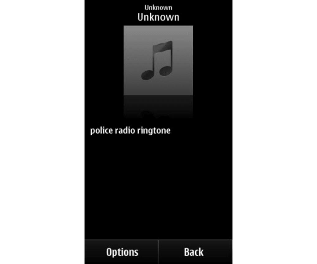 suoneria radio polizia