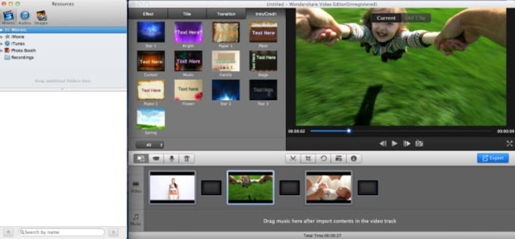 wondershare video editor for mac free download