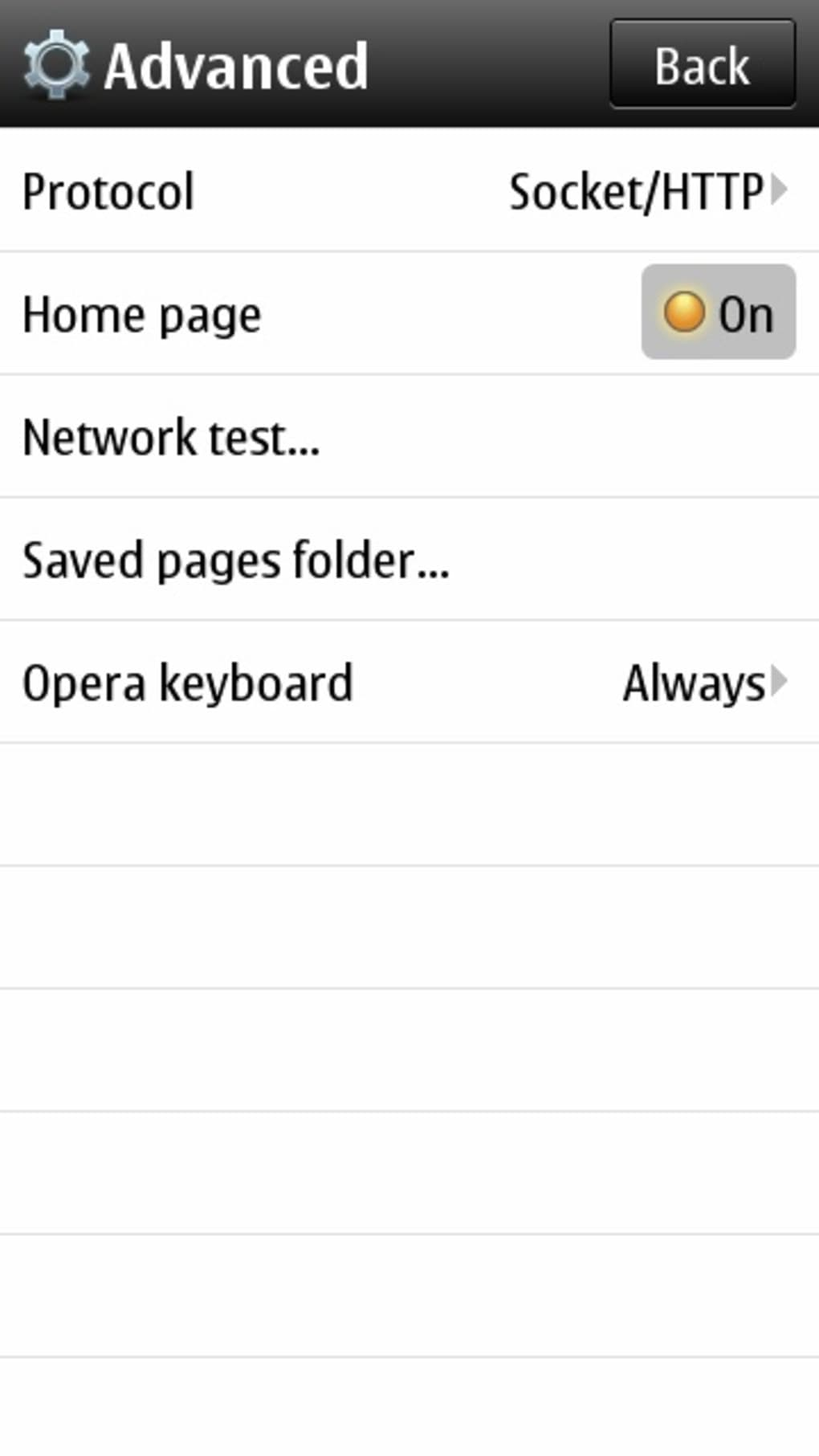 Opera mini next for symbian free download