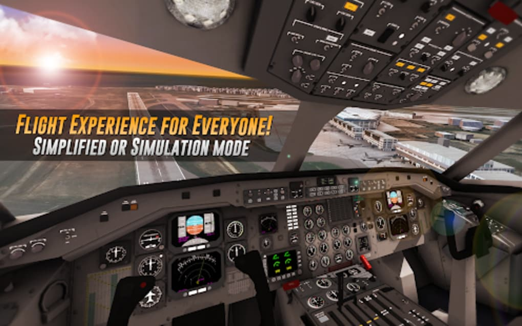 Airline Commander A real flight experience for Android