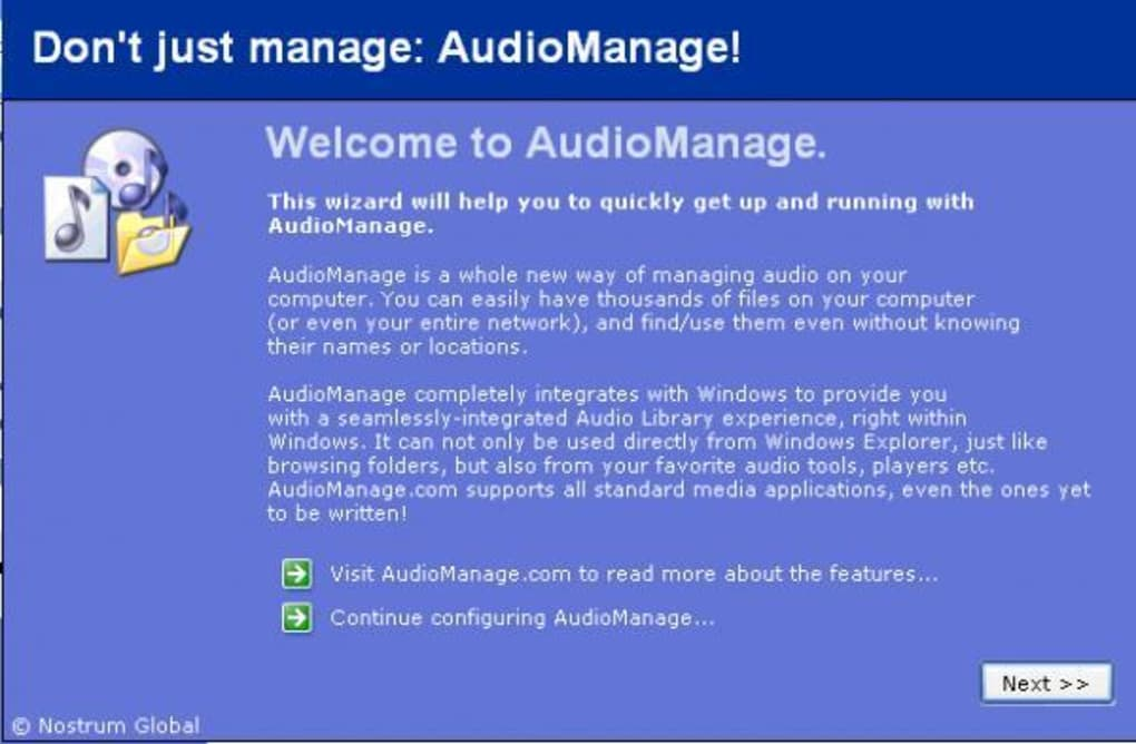 AudioManage - Download