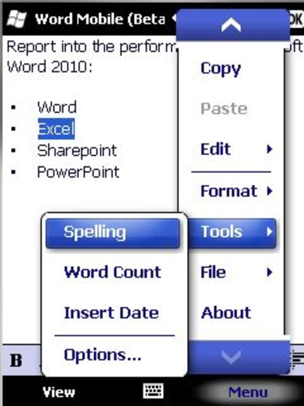 microsoft office mobile for pocket pc download