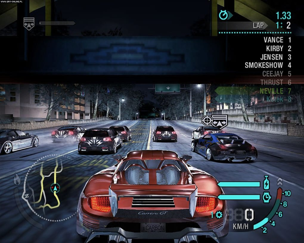 gioco need for speed carbon completo