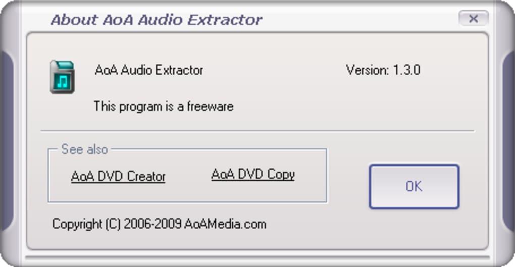 aoa audio extractor francais