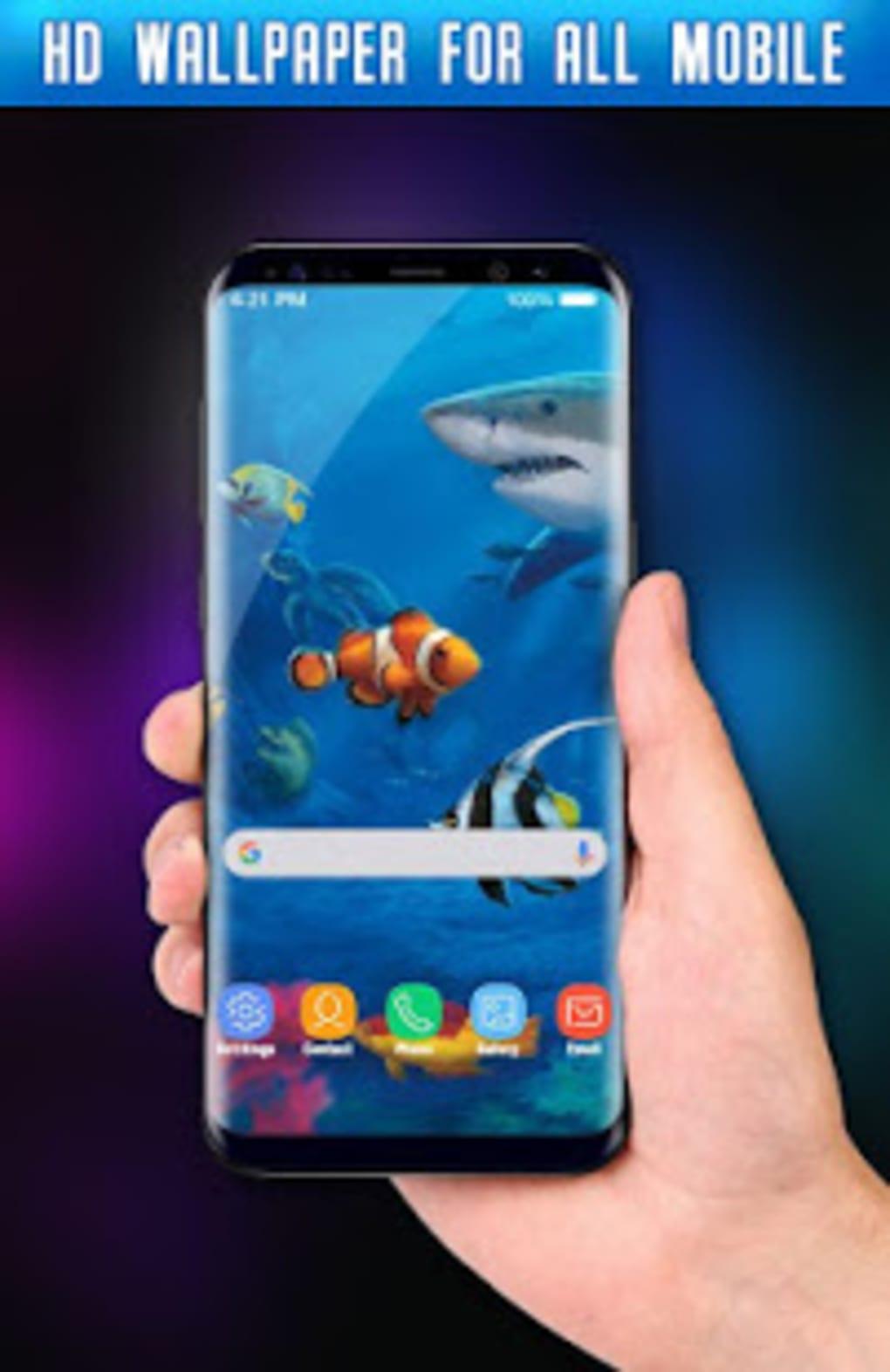 Fish Live Wallpaper 3D Aquarium Background HD PRO For