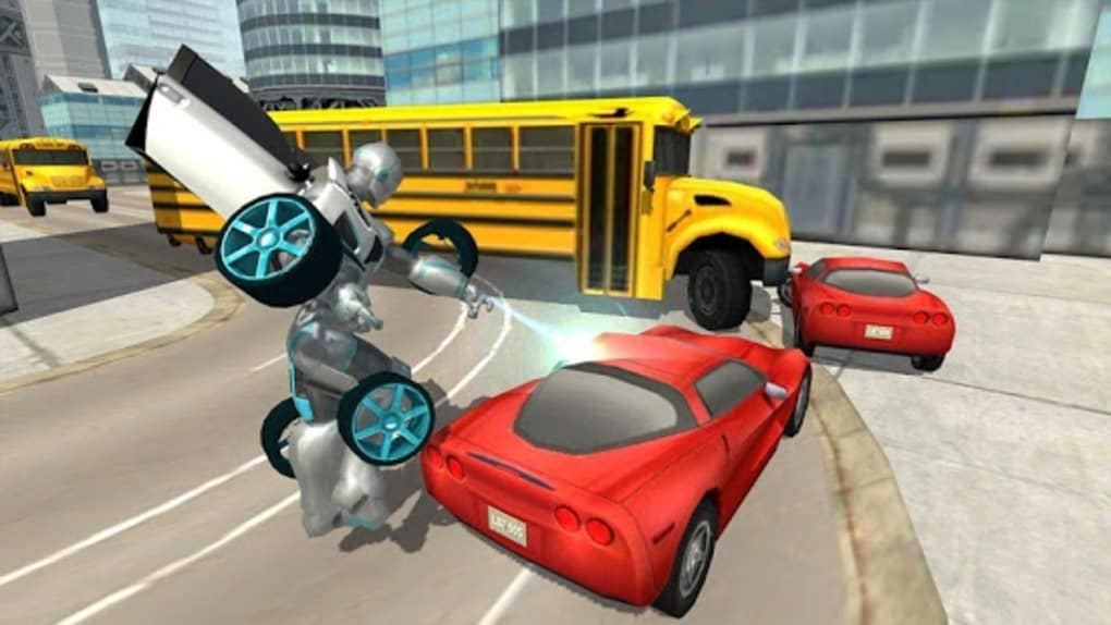 Flying Car Robot Simulator Apk For Android Download