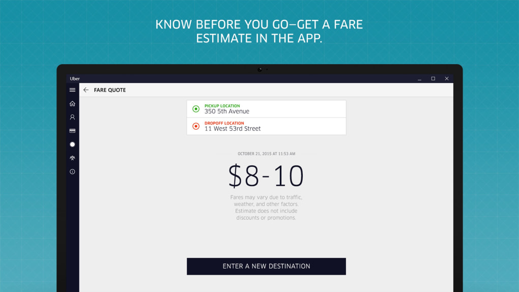 Uber Rate Quote >> Uber Download