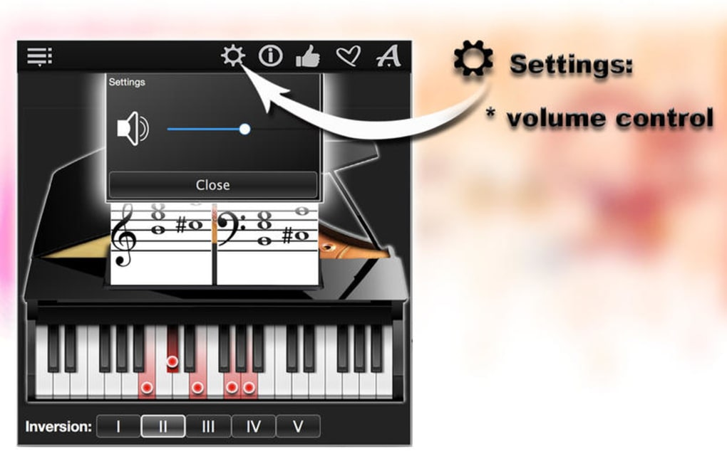 Piano Chords Compass for Mac - Download