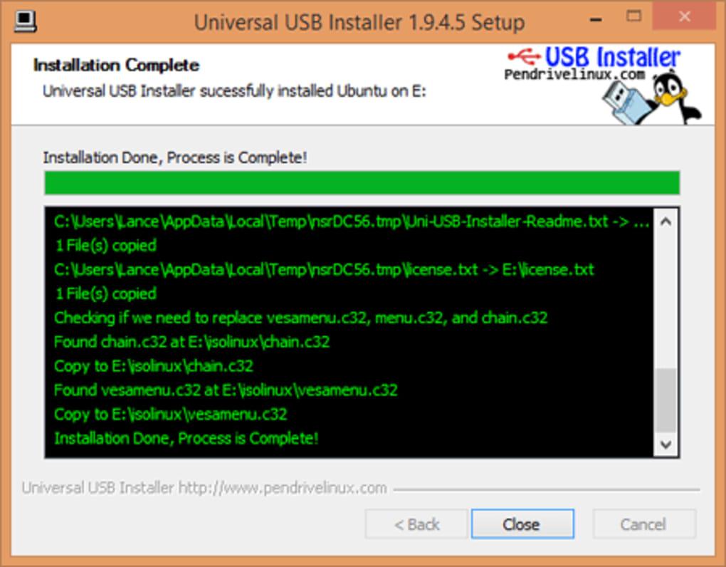 Universal USB Installer - Download
