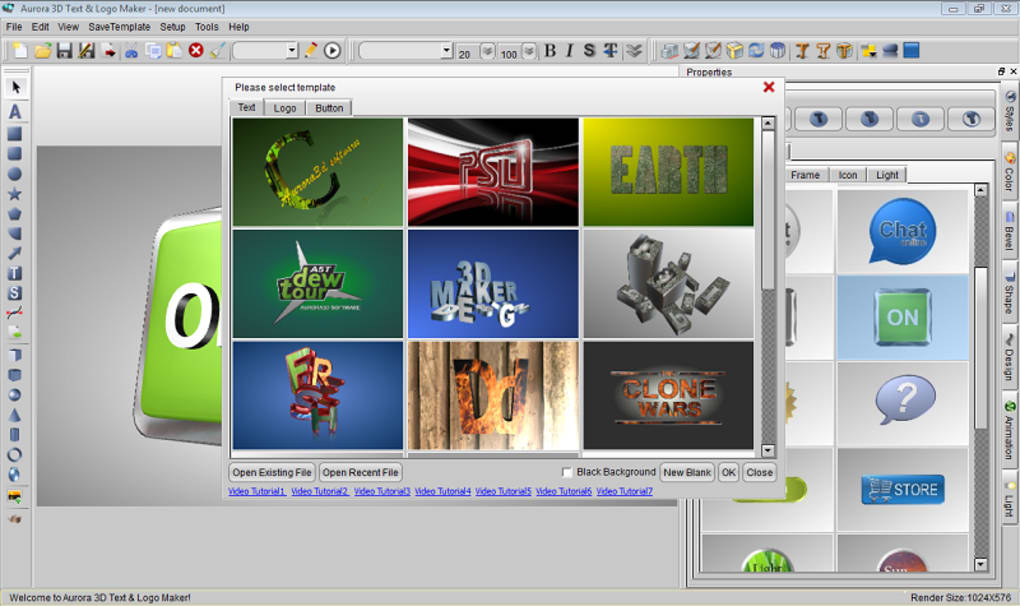 3d logo maker software free download